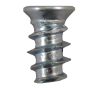 Cabinet Hardware Euro Screw Nickel